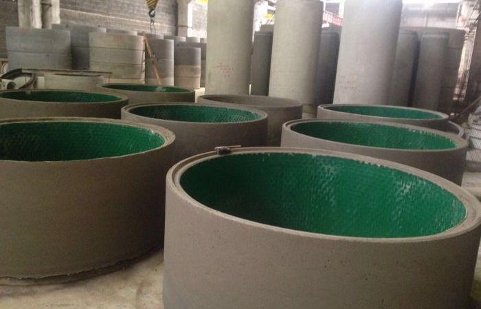 Футеровочных бетонов маховик из бетона